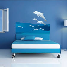 Dolphins And Waves Wall Decal Animal Wall Decal Murals Primedecals