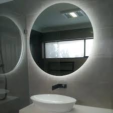 led illuminated mirror backlit with