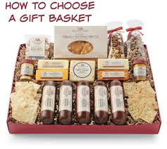 how to choose a gift basket selecting