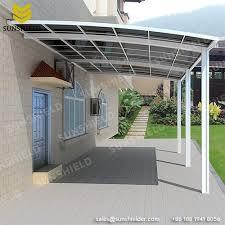 aluminum patio polycarbonate roof