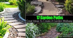 17 garden path ideas great ways to