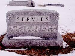 Ivan Wallace Servies (1908-1937) - Find A Grave Memorial