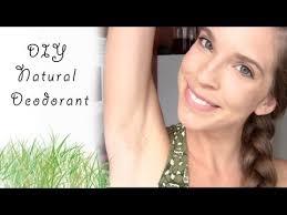 diy natural coconut oil deodorant
