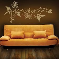 Flower Border Wall Decal Style And Apply