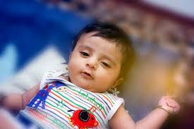 cute indian baby premium photo