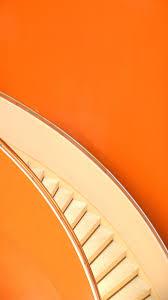 خلفيات ايفون لون برتقالى مربع