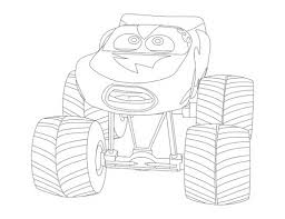 Lightning Mcqueen Colouring Pages To Print At Getdrawings Free