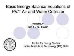 ppt basic energy balance equations of
