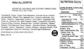 licorice allsorts old fashioned candy