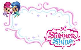 Shimmer And Shine Invitations For Girls Plantilla De Invitacion
