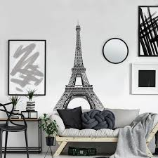Eiffel Tower Giant Wall Decals Roommates Decor