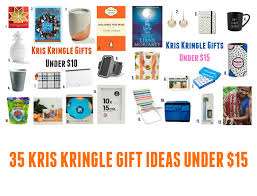 gifts for kris kringle