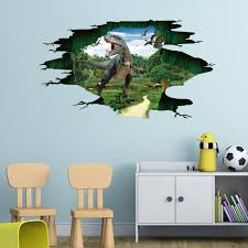 3d Wall Stickers For Kids Rooms Dinosaur Floor Wall Sticker Removable Mural Decals Living Room Decor Adesivo De Parede Dec11 Sticker For Kids Room Wall Stickers For Kids3d Wall Stickers Aliexpress