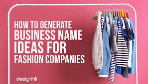 how to generate business name ideas for