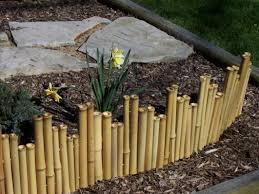 Ideas Bamboo Garden Border Bob Doyle Home Inspiration Garden Border Fence Plan Ideas