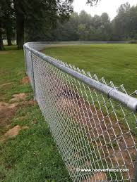 Hoover Fence Chain Link Homerun Outfield Fencing Kits Hoover Fence Co