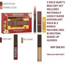 burts bees naturally lovely suede