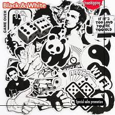 2020 Black And White Sticker Snowboard Car Styling Sleigh Box Luggage Fridge Toy Vinyl Decal Home Decor Diy Cool Stickers From Jihua Company 8 88 Dhgate Com