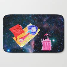 The Universe Is Our Home Kids Room Up To The Space Cosmos Bath Mat By Azima Society6