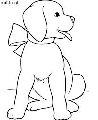 Kleurplaat Hond De Mooiste Kleurplaten Milito Nl