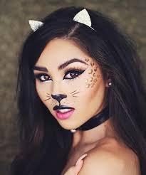 halloween cat makeup by roxette arisa