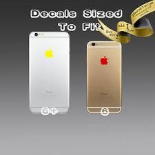 4x Apple Logo Sticker Decal Vinyl Iphone 6s 6s 6 6 6 7 Plus Xr 11 Max Pro Ebay