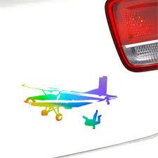 Skydiving Extreme Sport Sticker Car Bumper Truck Auto Wall Window Vinyl Decal Ebay