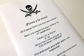 Tutorial Invitaciones De Cumpleanos De Piratas Con Imprimible