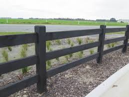 Post And Rail 3 Rail Fences Boundaryline New Zealand