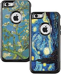Amazon Com Teleskins Protective Vinyl Skin Decals Compatible With Otterbox Commuter Iphone 6 Plus Iphone 6s Plus Case Vincent Van Gogh The Starry Night And Vincent Van Gogh Almond Blossoms Pack Of 2
