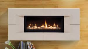 linear direct vent fireplace