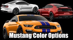 2019 ford mustang gt shelby color