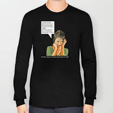 Who IS ADA? Long Sleeve T-shirt by rossfett | Society6