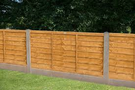 6ft X 4ft 1 83m X 1 22m Trade Lap Fence Panel Forest Garden