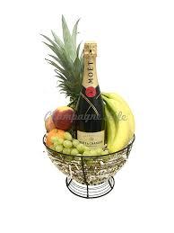 moët chandon fruit basket chagne