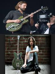 In A Star Is Born (2018), Jackson Maine is using an almost identical guitar  to that of Chris Cornell. : MovieDetails