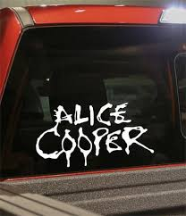 Alice Cooper Band Decal North 49 Decals