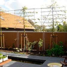 Garden Fence Kokowall Privacy Kokosystems Bv With Panels Coconut Modular