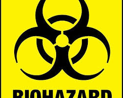 Biohazard Decal Etsy