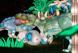nyc winter lantern festival in staten