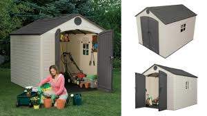 lifetime storage shed 8x10 quality