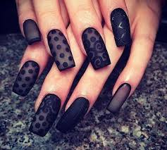 30 bold black nail art inspirations