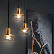 industrial retro style pendant lights