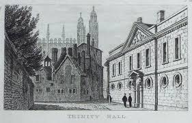 Antique Prints of Trinity Hall Cambridge