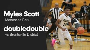 "Myles Scott's (Manassas Park, VA) Video ""Double Double vs Brentsville  District "" 