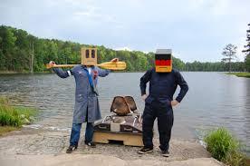 Slobot About Town LXXIX: Slobot goes to Lake Edwin Johnson!