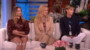 Charlize Theron, Nicole Kidman and Margot Robbie - On The Ellen ...