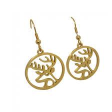 custom china gold plated earrings
