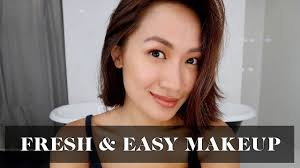 everyday makeup tutorial fresh easy