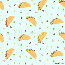 cute cartoon colorful seamless pattern